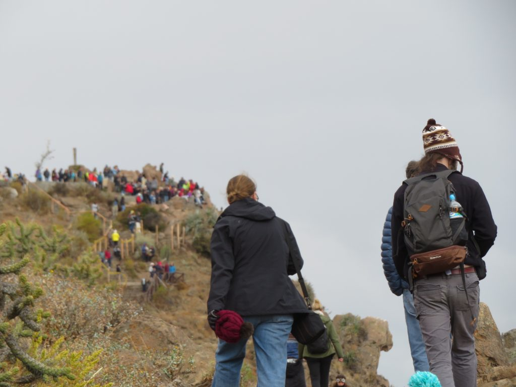 Visiting the Colca Canyon: Crowds