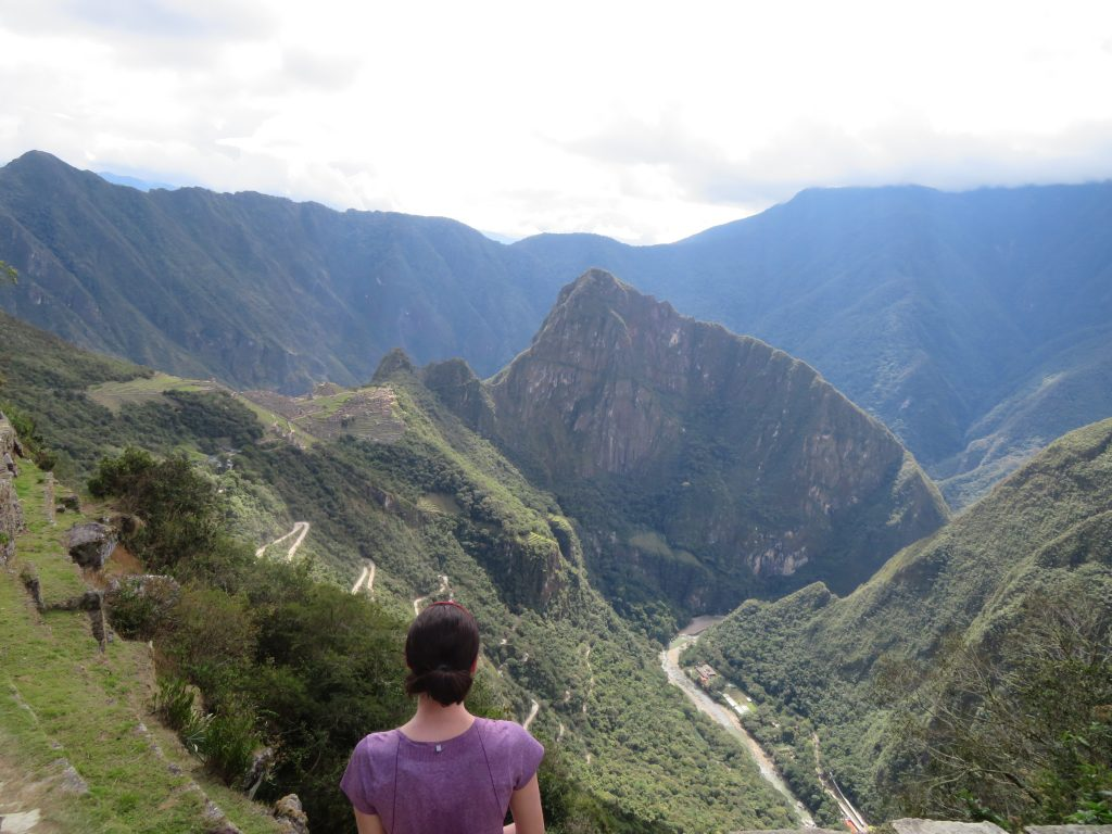 Visiting Machu Picchu | Machu Picchu view from Sun Gate