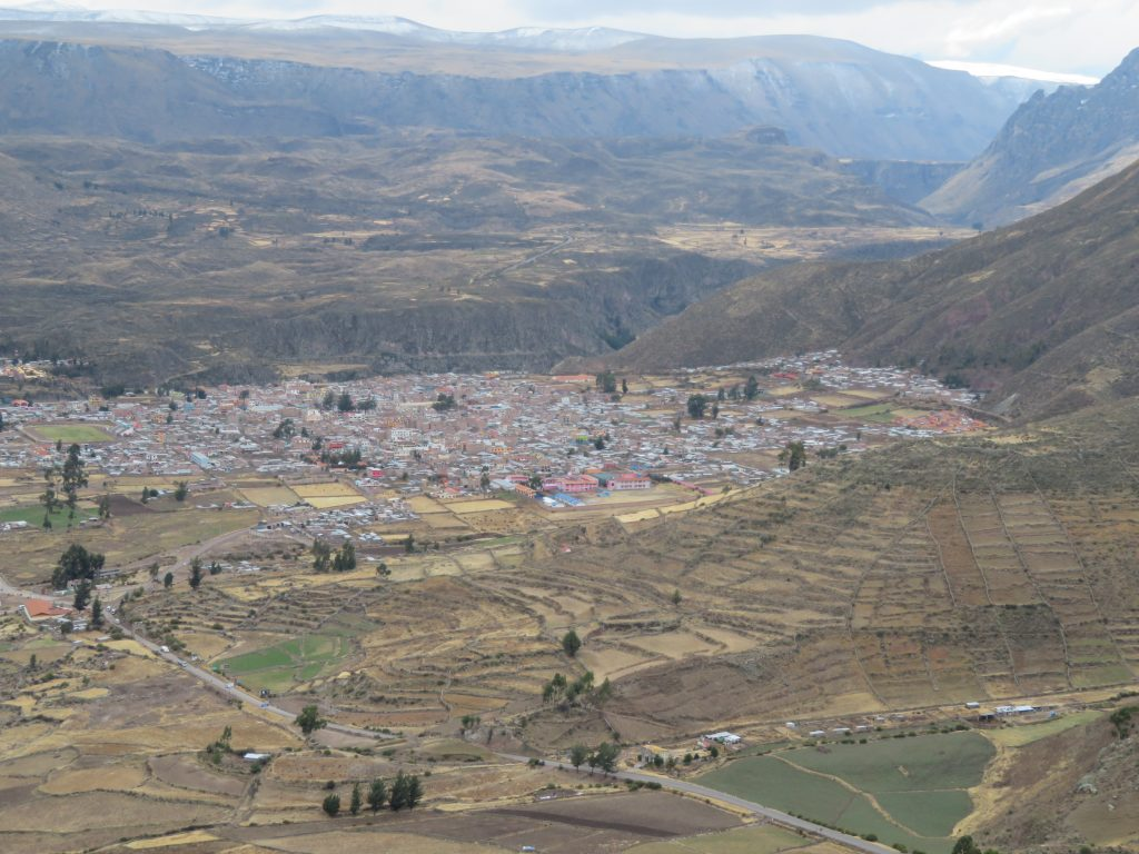 Visiting the Colca Canyon: Chivay