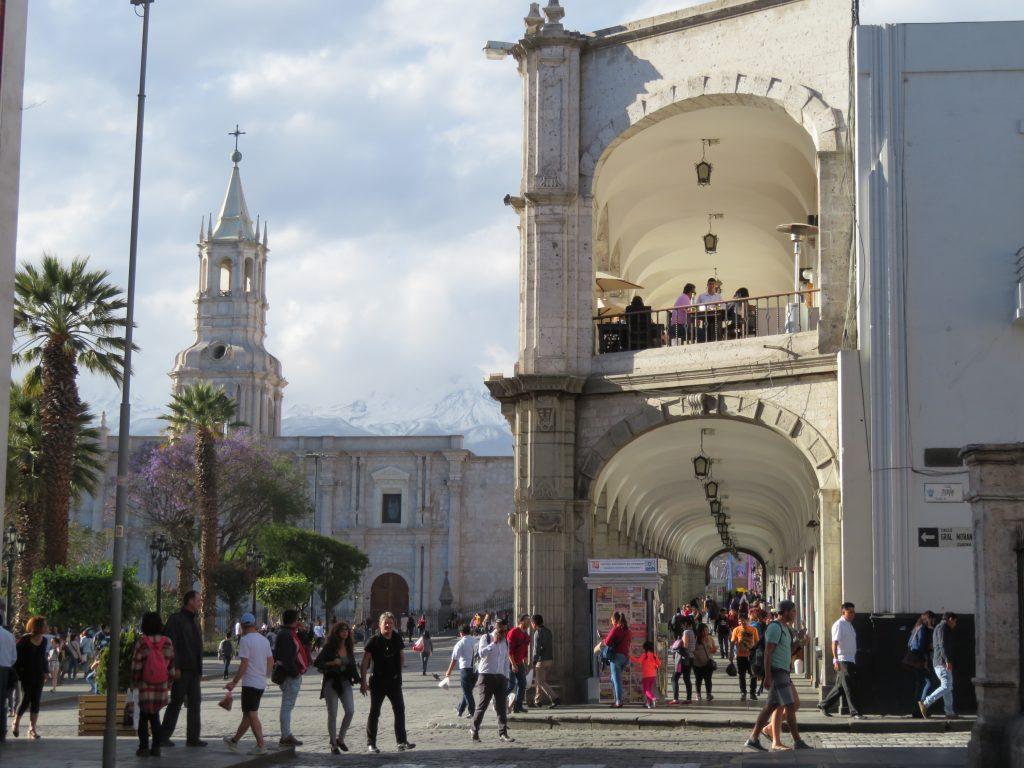 Top Things to do in Arequipa | Plaza de Armas