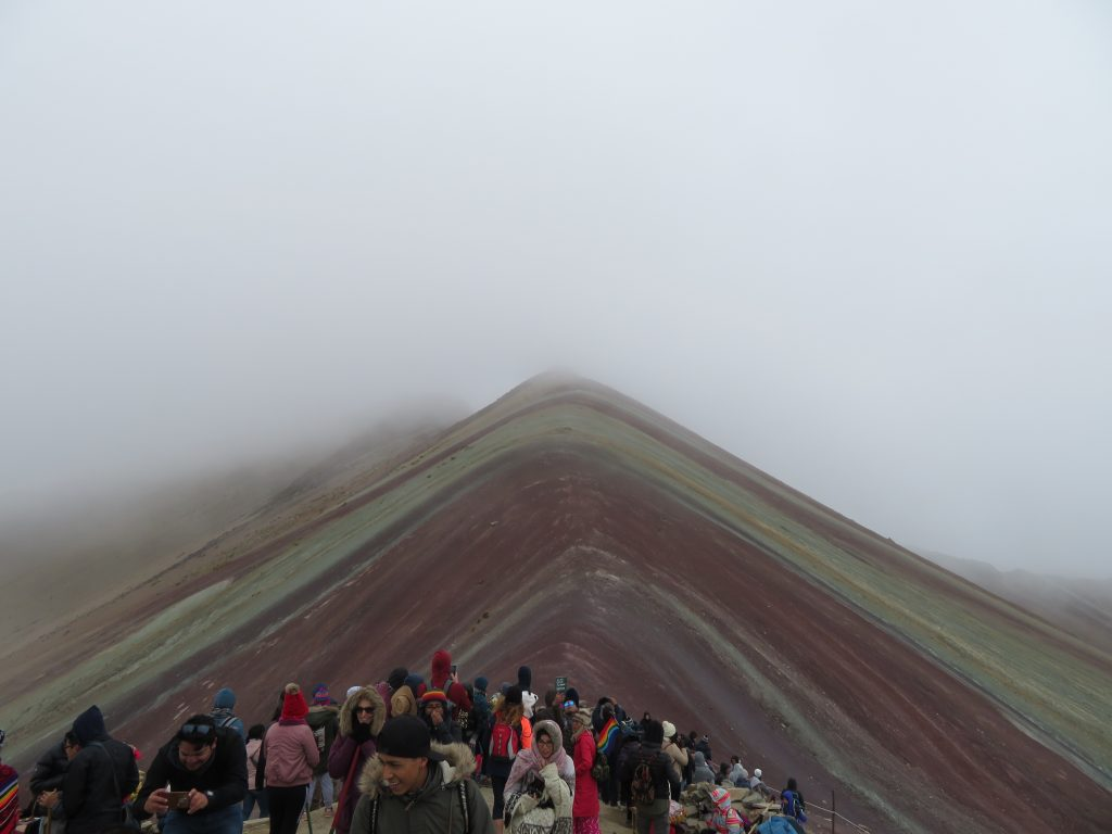 Rainbow Mountain | Tourists