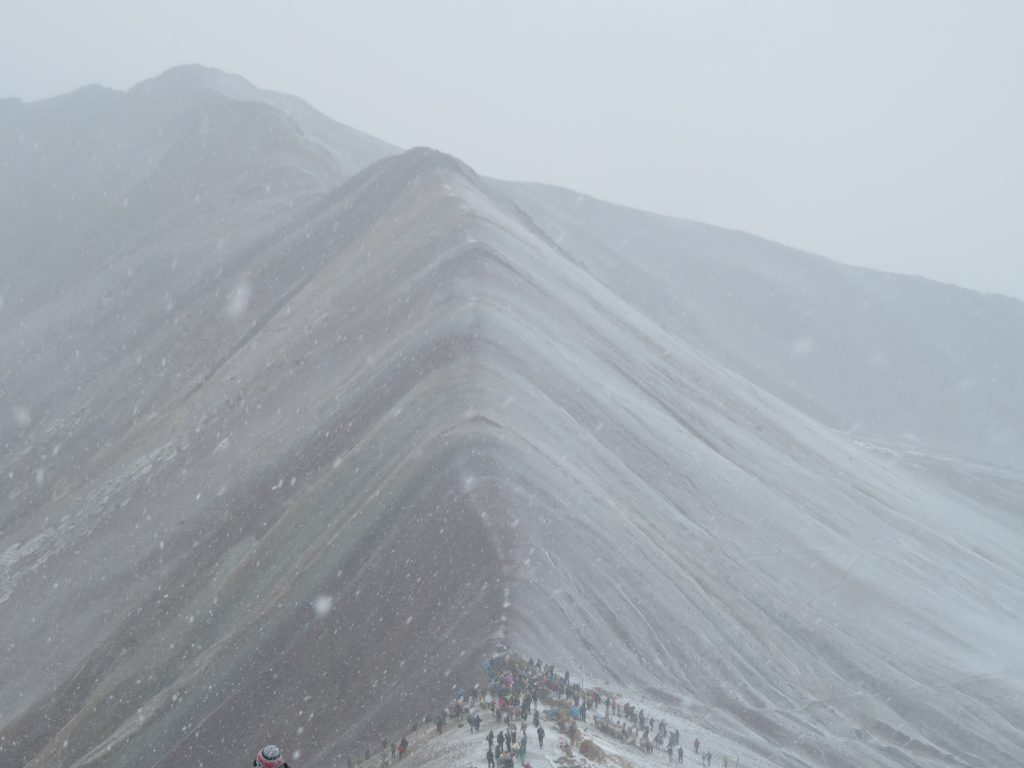 Rainbow Mountain | Snow