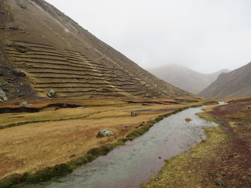 Rainbow Mountain | Incan Terraces