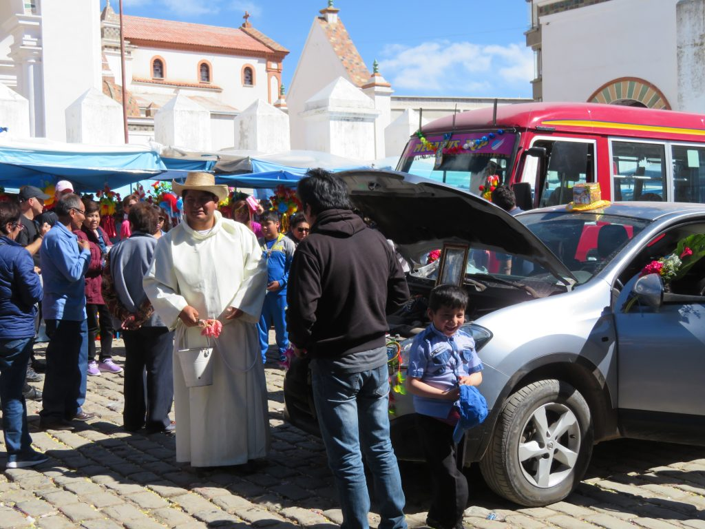 Copacabana Bolivia | Blessing of the cars
