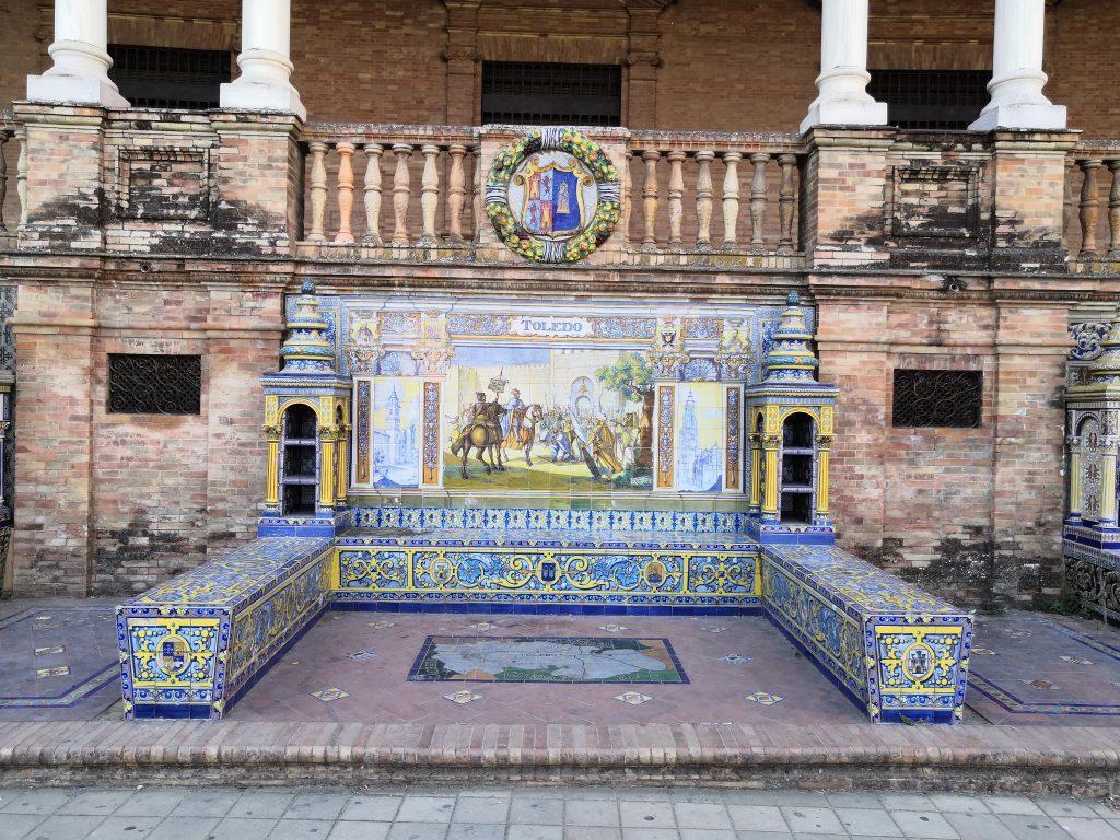 Sevilla Travel Guide   Plaza de Espana