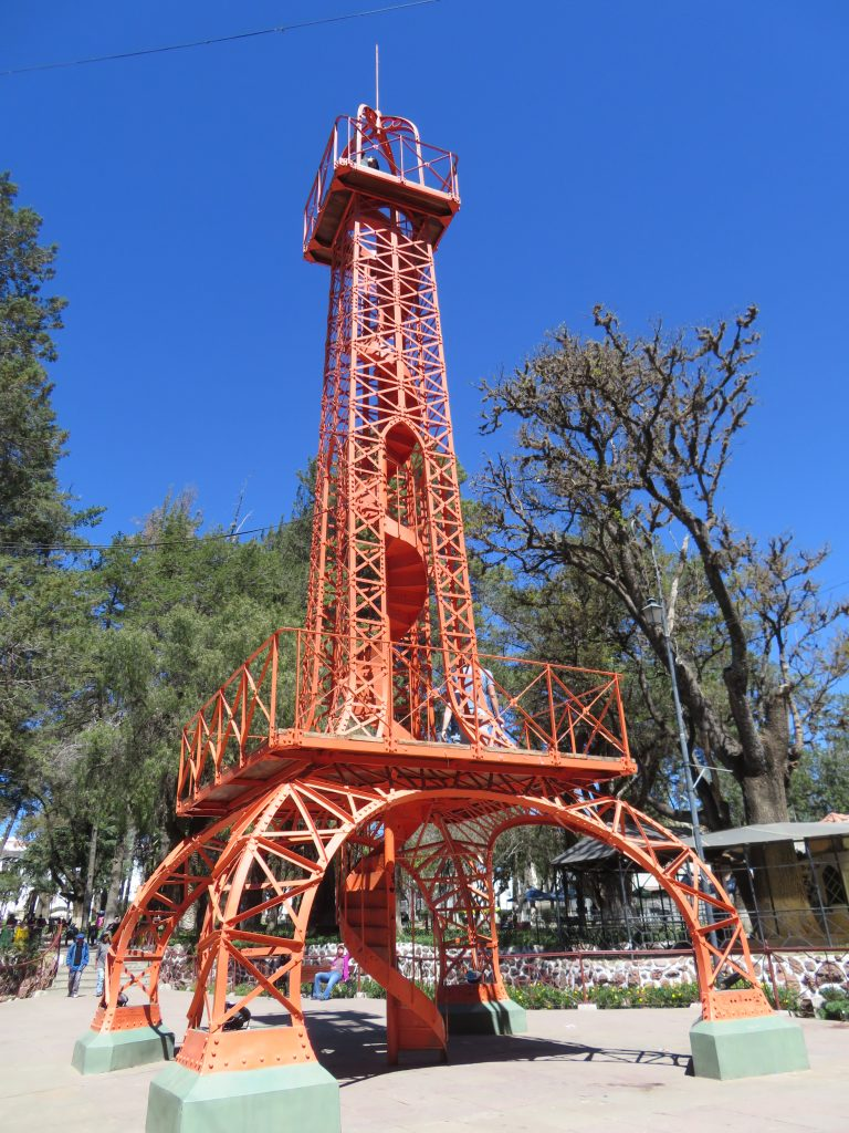 What to do in Sucre Bolivia | Mini Eiffel Tower